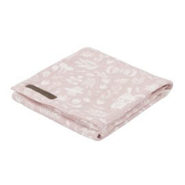 Little Dutch swaddle Adventure Pink 120 x 120 cm