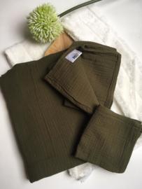 Mini & Maxi: Hydrofiele doek legergroen