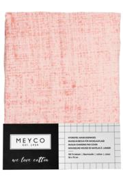 Meyco aankleedkussenhoes fine lines oudroze