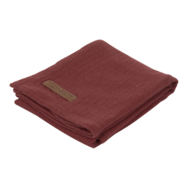 Little Dutch swaddle Pure indian red 120 x 120 cm