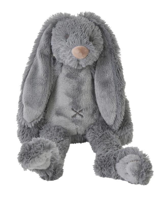 Tiny Deep Grey Rabbit Richie