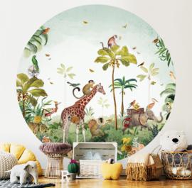 Jungle Parade - wallpaper circle