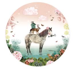 Fairy Tale Horse - wall sticker