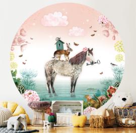 Fairy Tale Horse - wallpaper circle