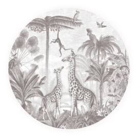Giraf & slingeraapjes - keuze uit 7 kleuren