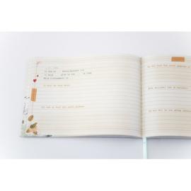 Baby's eerste dagboekje