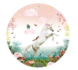 Unicorn - wallpaper circle
