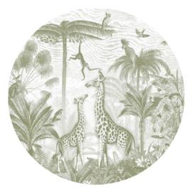 Giraf en slingeraapjes - keuze uit 6 kleuren