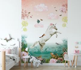 Unicorn voor Sjoerd | 325b x 219h cm