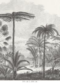 Tropisch landschap - keuze uit 2 kleuren