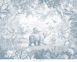 Bosdieren | blauw