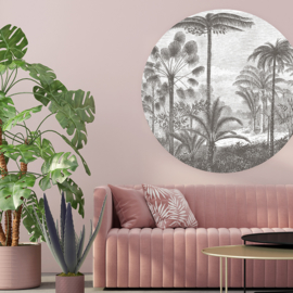 Tropical landscape - selection of 5 colours