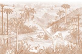 Jurassic world | terracotta