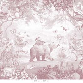 Bosdieren | oudroze