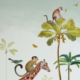 Behang Jungle parade | 243b x 260h cm