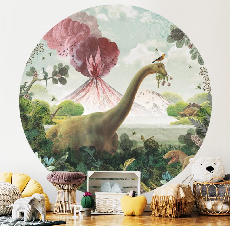 Dinosaurus behangcirkel