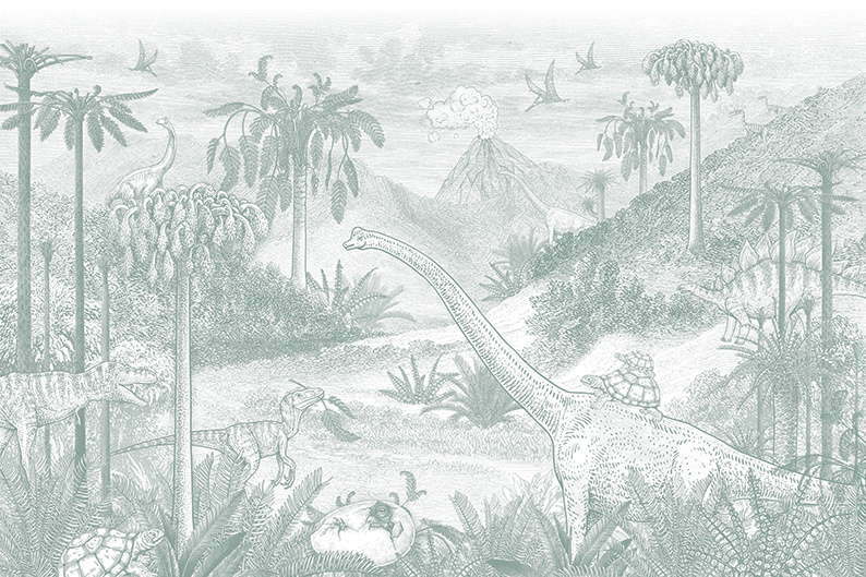 Jurassic world | zeegroen