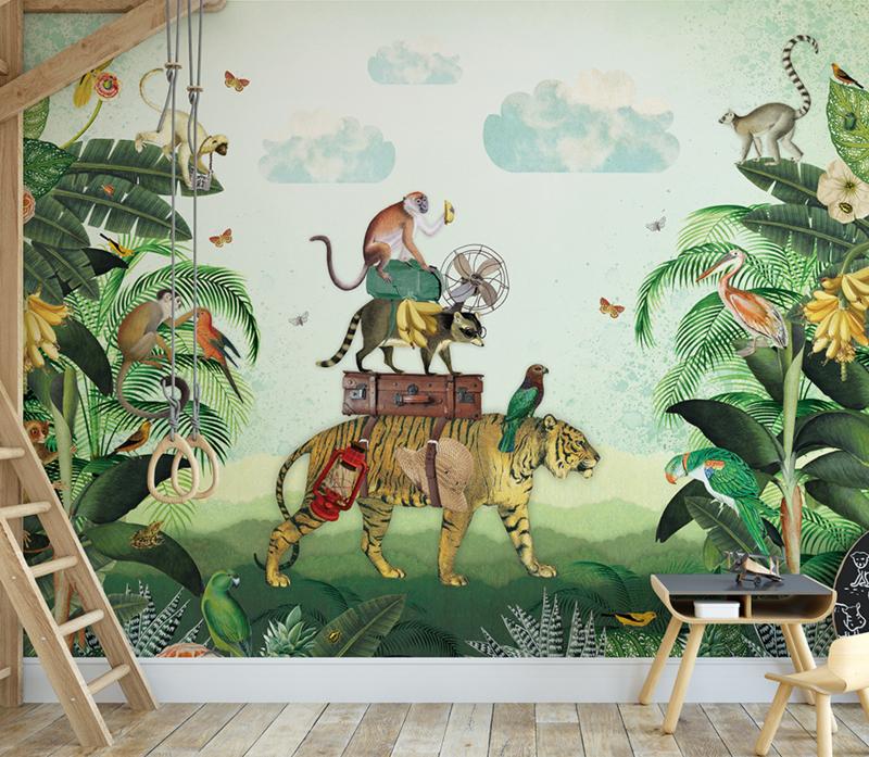 Tijger in de jungle