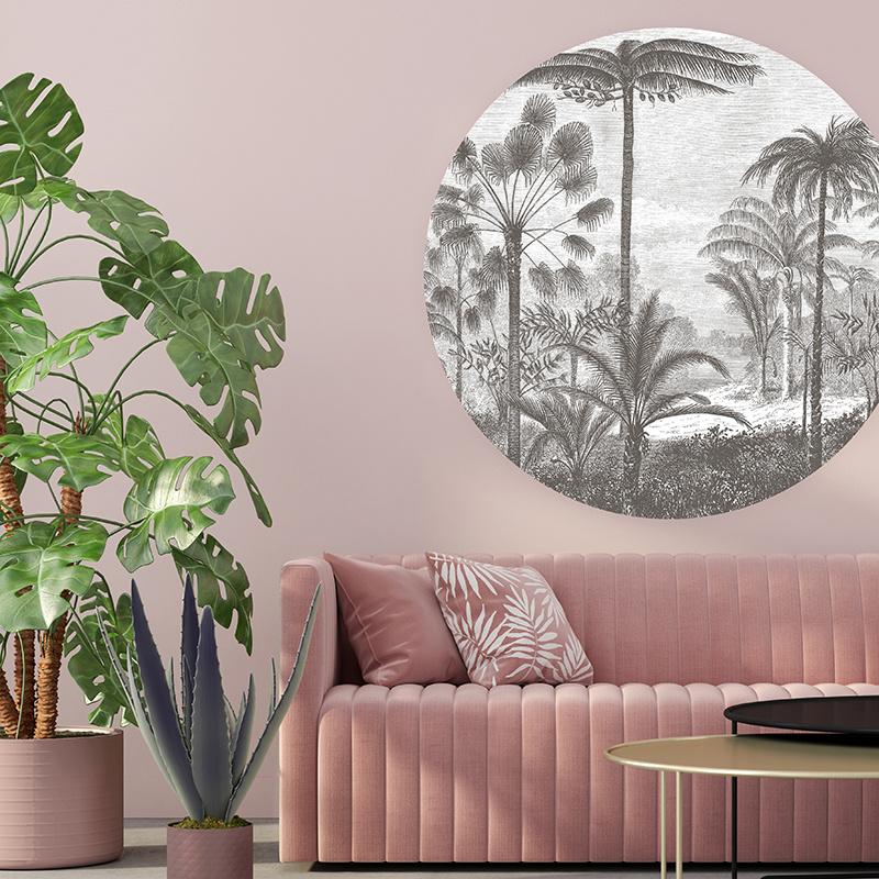 Tropisch landschap - keuze uit 5 kleuren