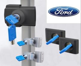 Ford Transit Full-set 5 sloten ZWART