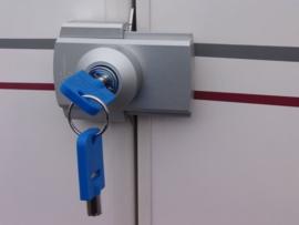 Deurslot voor universeel gebruik - met sleutel