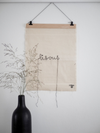 Stitched Art 'Bisous'