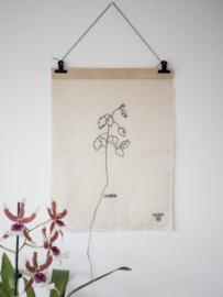Stitched Art 'Lunaria'