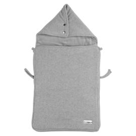 Voetenzak Knit Basic - Grey Melange