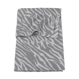 Zebra Grey Wiegdeken