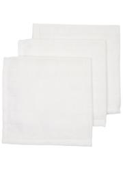 Hydrofiel Monddoekjes 3-pack I White uni I