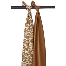 Hydrofiel Swaddles  2-pack | Zebra Camel |