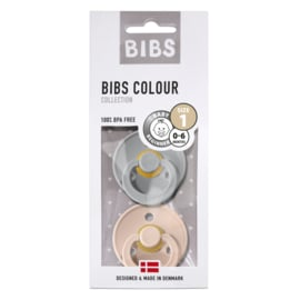 BiBS Speen Cloud/Blush - 0-6 mnd