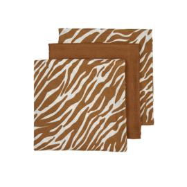 Hydrofiel Luiers 3-pack | Zebra Camel |