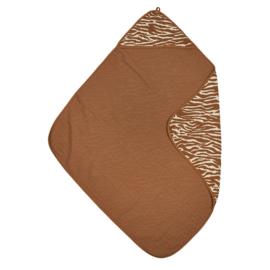 Hydrofiele Badcape Zebra Camel