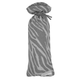 Zebra Grey Kruikenzak