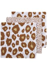 Hydrofiel Luiers 3-pack | Panter Cheetah Camel |
