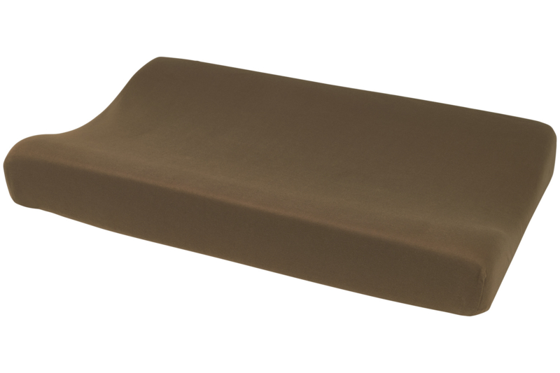Aankleedkussenhoes Basic Jersey I Chocolate