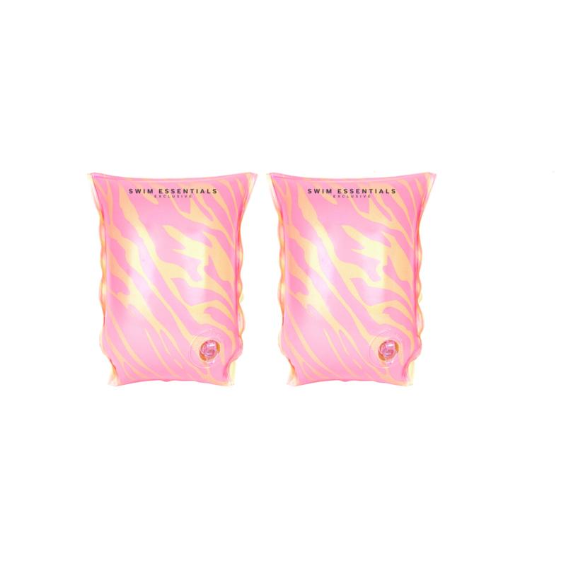 Roze Zebra Zwembandjes 2-6 jaar