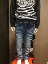 Kids skinny jeans happy star