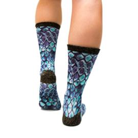 Sock my feet reptile