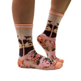 Sock my feet doglover