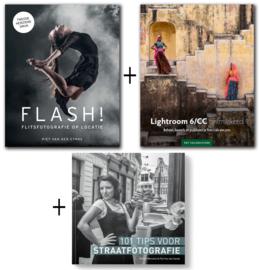 Voordeelbundel 3: Flash! + 101 Tips voor Straatfotografie + Lightroom 6/CC Ontmaskerd