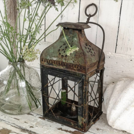 Grote antieke Franse lantaarn VERKOCHT
