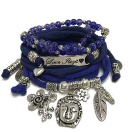 Set Love Ibiza - Buddha Ibiza - inkt en donkerblauw