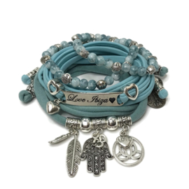 Set Love Ibiza - Hamsa - vintage mint