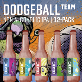 Dodgeball team 12-pack