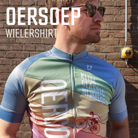 Oersoep wielershirt