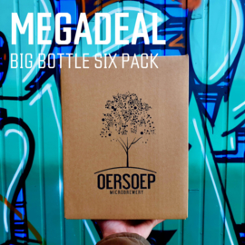 MEGA DEAL - Big Bottle six pack