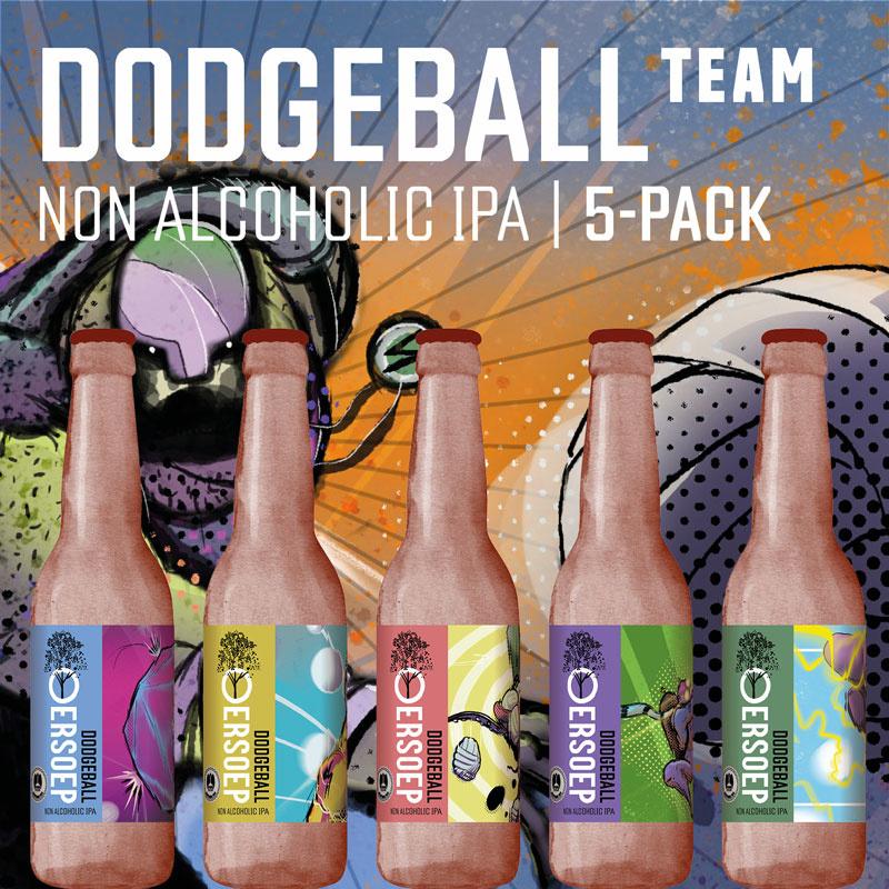 Dodgeball team giftpack