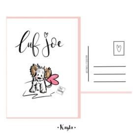 Luf Joe postkaartje